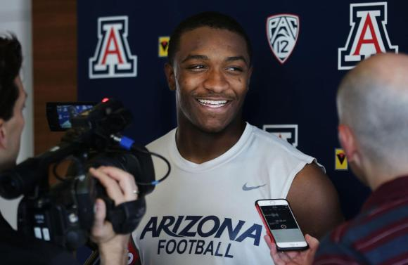 2019. Arizona. Khalil Tate